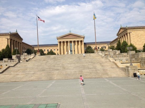 Philadelphia Sightseeing Tours: Rocky Climbed These Steps!!!!!
