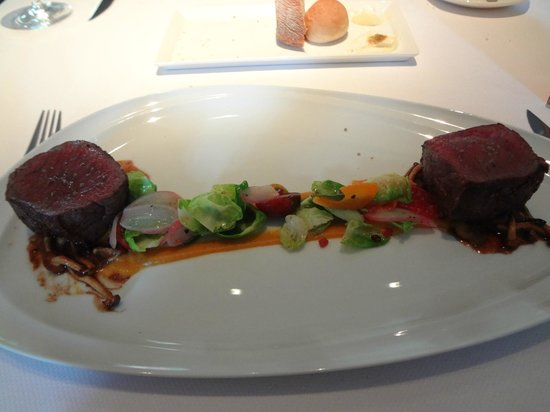 Maritana Grille at The Don CeSar: Venison from New Zealand