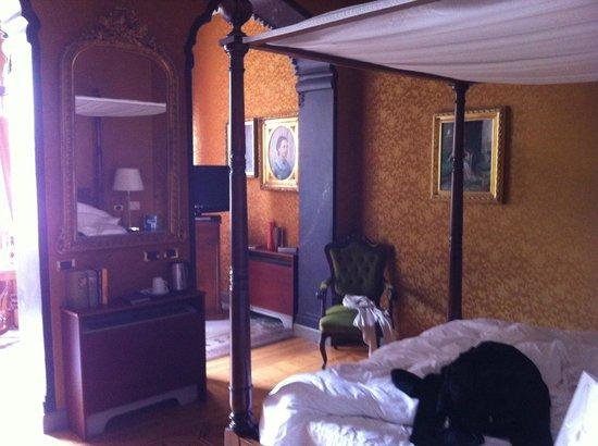 Villa Crespi: un particolare della suite