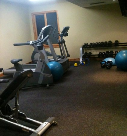 Rundle Cliffs Luxury Mountain Lodge: The gym