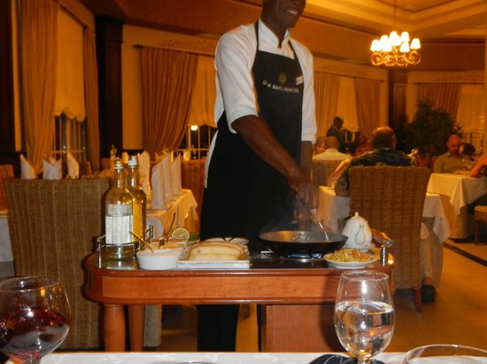 Luxury Bahia Principe Ambar Don Pablo Collection: Ala carte restaurant flambe