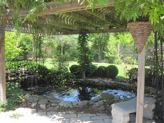Lavender Heights Bed and Breakfast: Cool shady spot
