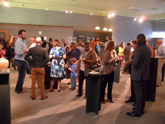 Columbus Arts Council - Rosenzweig Arts Center: MUW Ceramics Exhibit Opening