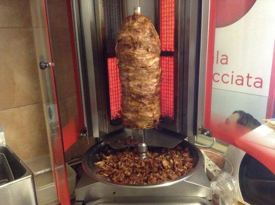 Pizzeria Geko: Kebab