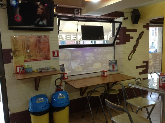 Pizzeria Geko: Locale