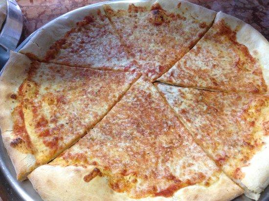 Pizzeria Geko: Pizza trancio