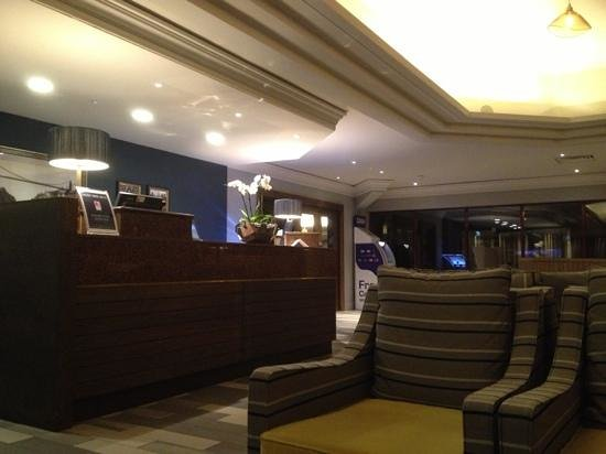 Hilton Bristol Hotel : reception