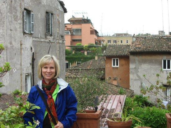 Residenza Arco dei Tolomei: View from terrace