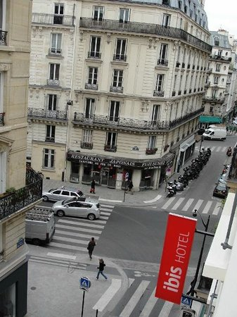Ibis Opéra la Fayette: Vista do Apartamento