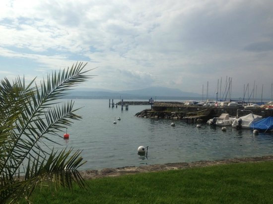 Hotel La Barcarolle : beach area