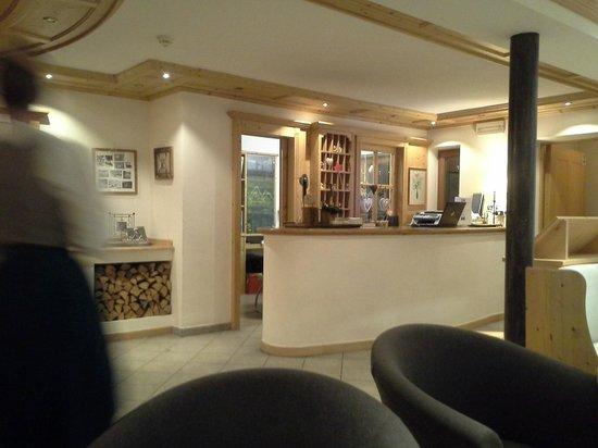 Hotel Innerhofer: reception