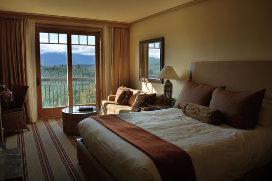 Suncadia Resort: Our Room and view