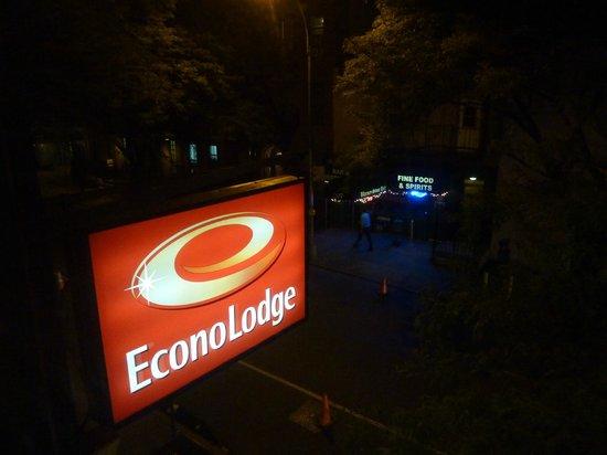 Econo Lodge Times Square: Blick aus meinem Zimmer