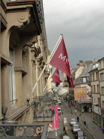Mercure Strasbourg Centre Petite France : Vista do Apartamento