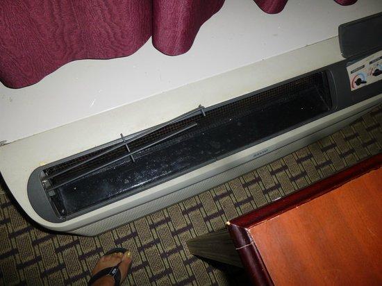 Super 8 Memphis/Dwtn/Graceland Area: Airconditioner