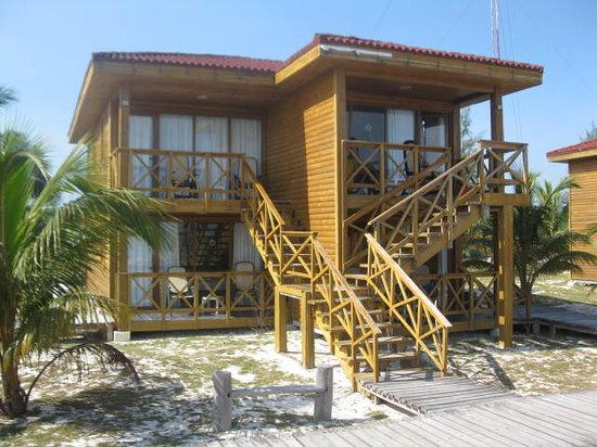 Hotel Cayo Levisa: cabañas 01