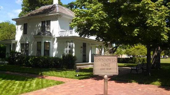 Dwight D. Eisenhower Library and Museum : Boyhood Home