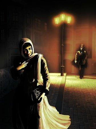 London Premier Walking Tours: The Ripper stalking at night.