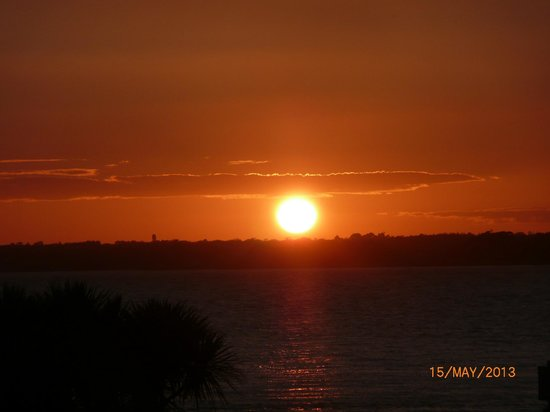 Best Western New Holmwood Hotel: Sunset over Egypt Point