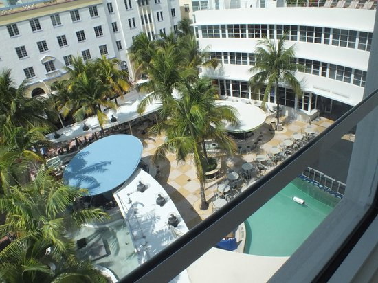 Clevelander South Beach Hotel: view from the room