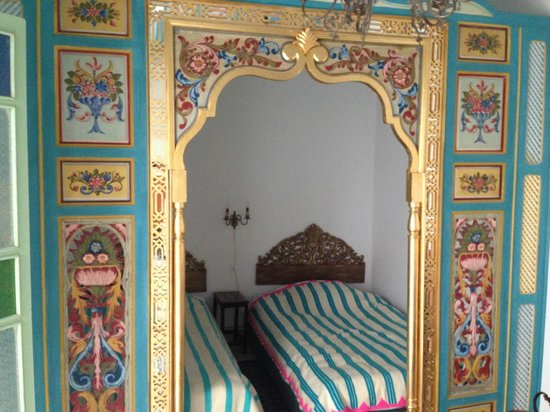 Le Kef, Tunisia: One of the three bedrooms.