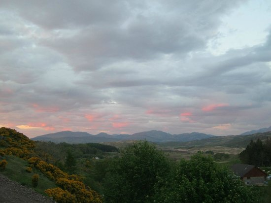 Aspen Lodge Bed & Breakfast: Sunset at Aspen Lodge Oban