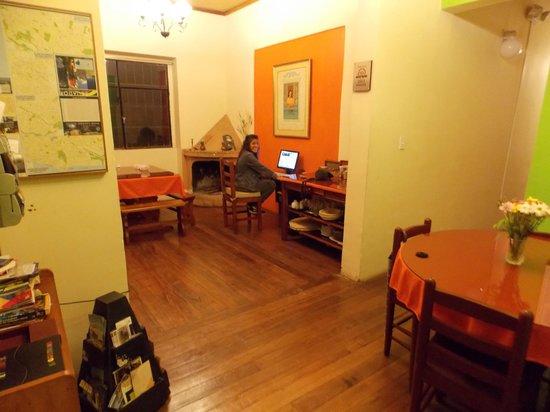 Posada Tambuca: sala de estar