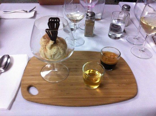 Pier01 Restaurant & Cafe: Affogato version 1