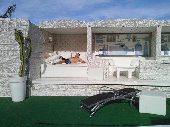 Brava Hotel: Área que mais parece um SPA