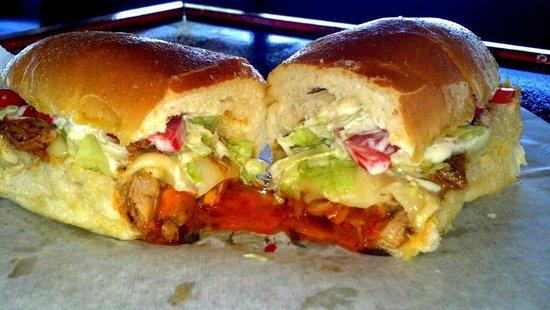 Open Faces Sandwiches: Buffalo Chicken Special