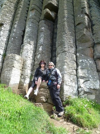 Nightingale House: Bonnie and husband in Ireland from Vancouver Canada