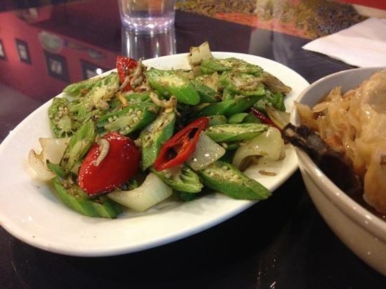 Dulukala Peranakan Restaurant: Lady's Fingers