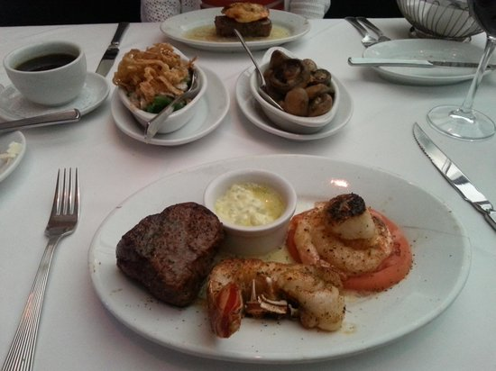Ruth S Chris Steak House Filet Seafood Trio