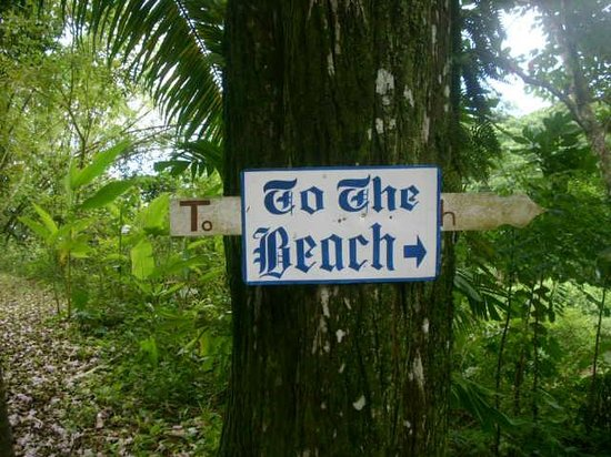 Frenchman's Cove: to the beach