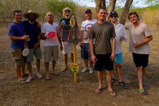 Marsella Valley Nature Center: Disc golf with Vince and the Maderas Village Crew