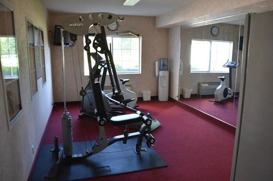 Comfort Inn & Suites Riverview: The fitnss room was OK, but a treadmill would be welcome
