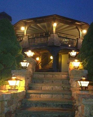 Land's End Inn : walking up to Lands End after dinner!  Breathtaking.
