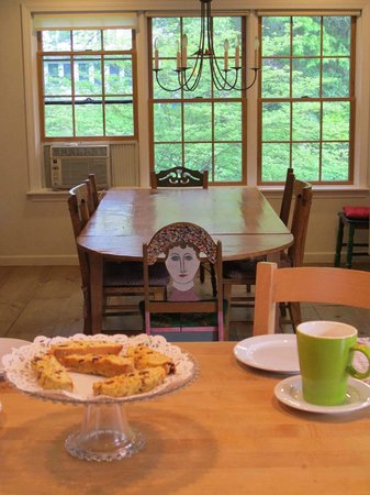 A Room in the Village Bed & Breakfast: Breakfast Table