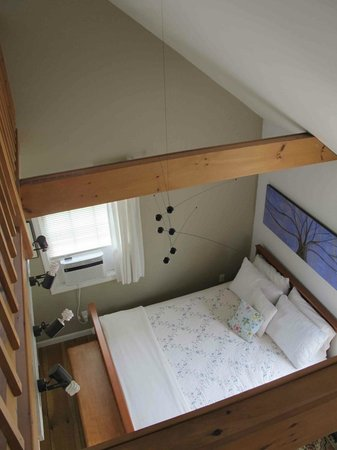 A Room in the Village Bed & Breakfast: The Suite Upstairs - View from the loft