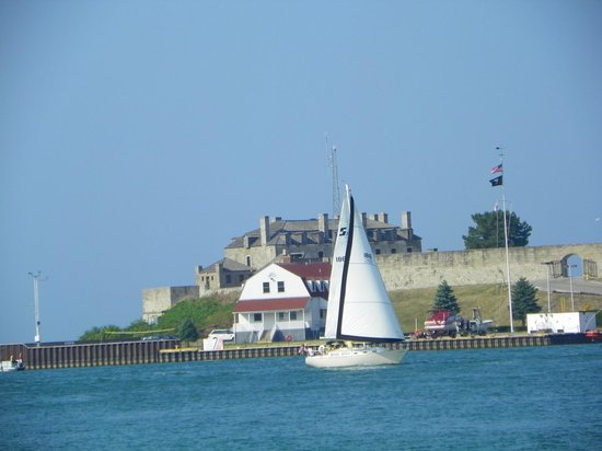 Old Fort Niagara: Fort Niagara from Niagara on the Lake