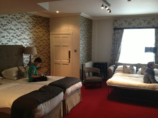 The Townhouse Hotel: Family room