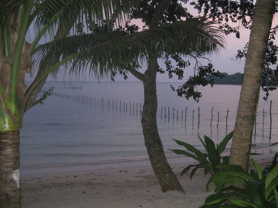 Vale Vale Beachfront Villas: Sunset from your deck
