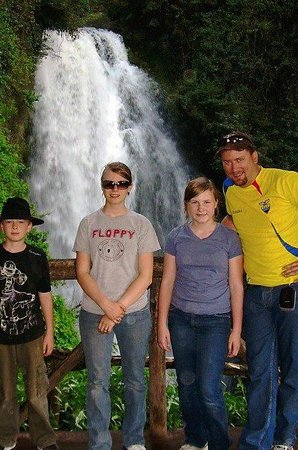 Peguche Waterfall 사진