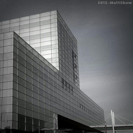 Figge Art Museum: one of the great views of down town Davenport
