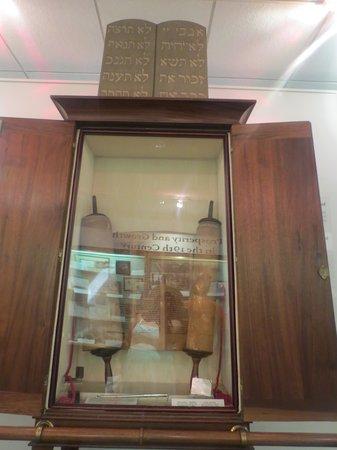 Mickve Israel Temple: Torah on deerskin