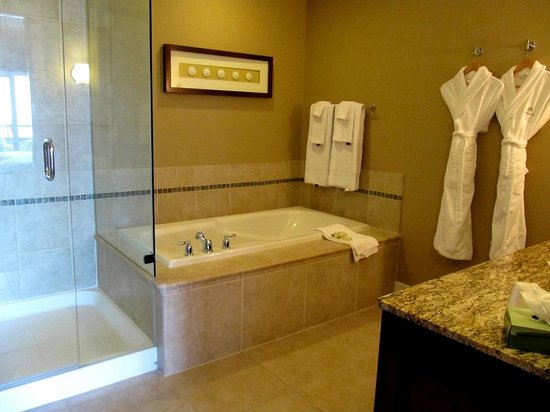 Master Bathroom of Suite 424Beach Club Resort