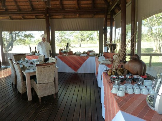 Nkorho Bush Lodge: Breakfast
