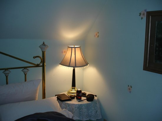 Power's Mansion Inn: such a lovely lamp