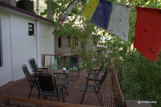 Cafe 42: Outside deck