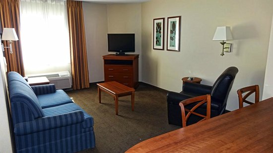 Candlewood Suites Roswell New Mexico: Living Room